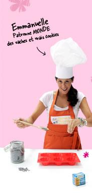 Emmanuelle Patronne MONDE des vaches et vrais cookies